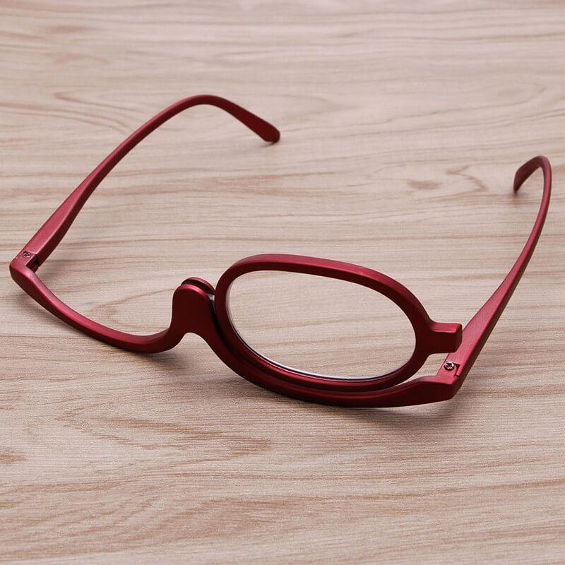 schminkbrille make up brille rot. Black Bedroom Furniture Sets. Home Design Ideas
